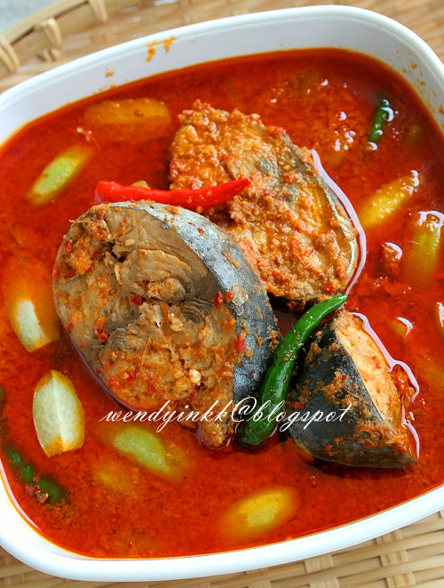 Table 2 Places Table For 2.... Or More: Tuna Curry ~ Gulai Ikan Tongkol
