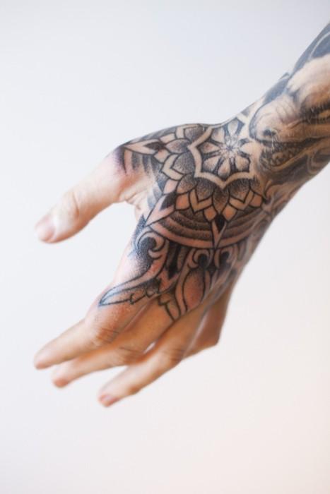Maori Hand Tattoo: Drops Of Jupiter: Tattoo Tuesday