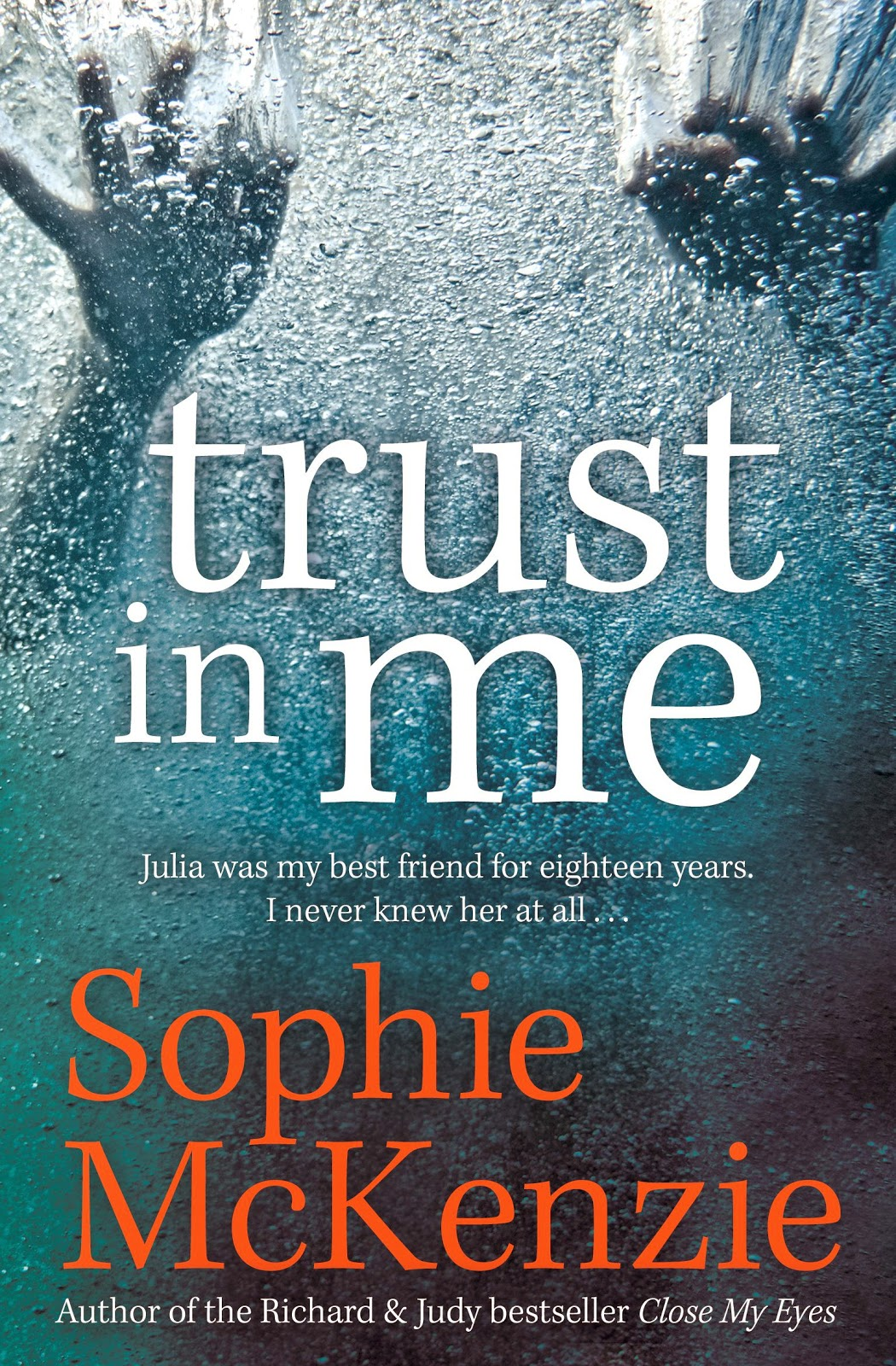 Claire Thinking Book Giveaway Trust In Me By Sophie Mckenzie