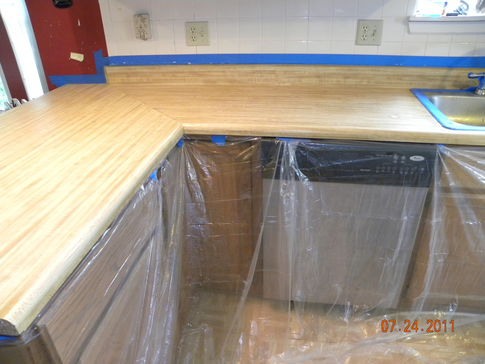 Tree Huggin Tipster Rust Oleum Countertop And Cabinet