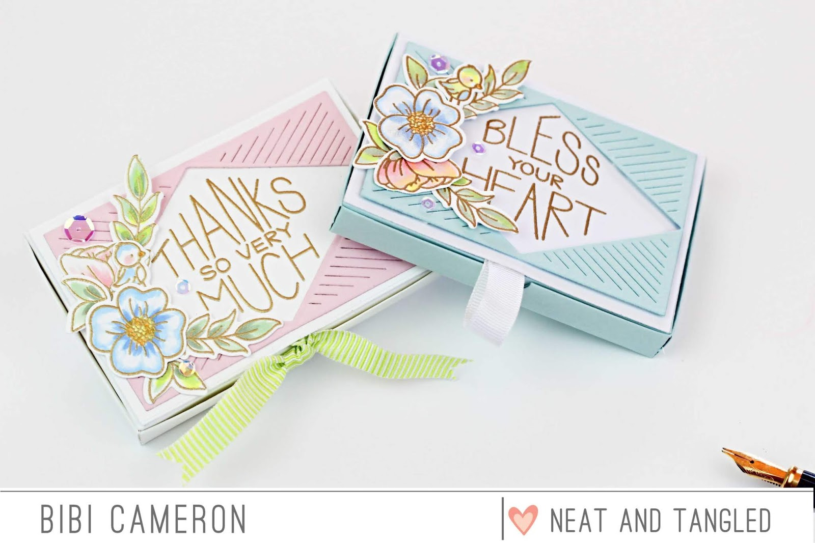 Gift Card Box With Pop Up Card Holder Insert 2 Ways Neat And Tangled
