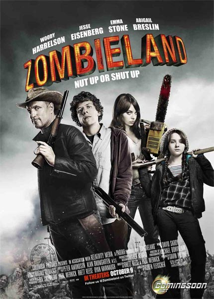 Tierra de zombies (HD 720P y español Latino 2009) poster box code