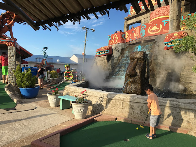 temple of the dragon putt putt mini golf ocean city maryland