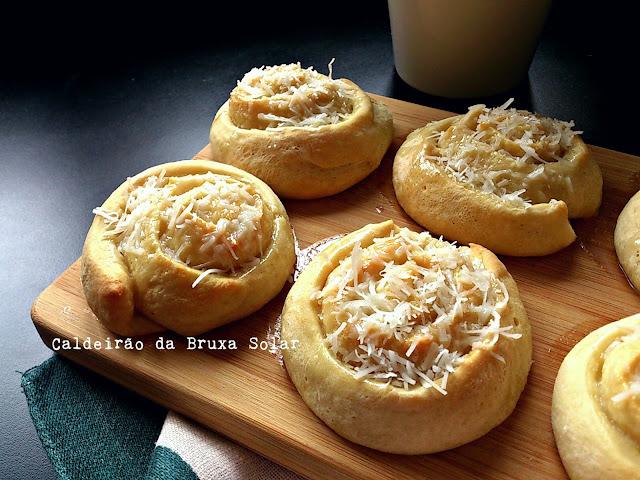 Pãezinhos de coco
