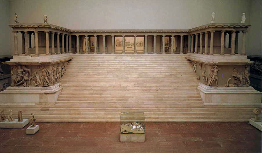 Evidence The Letter To The Church At Pergamos In Revelation And The Pergamon Altar To Zeus