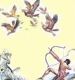 mito de hercules heracles las aves del lago estinfalo