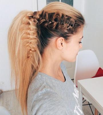 Trendy hairstyles for teenage girls