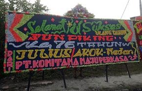 Toko Bunga Papan di Padang Sidempuan