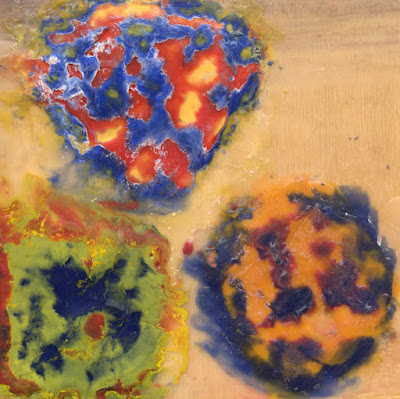 learning how to make encaustic paintings