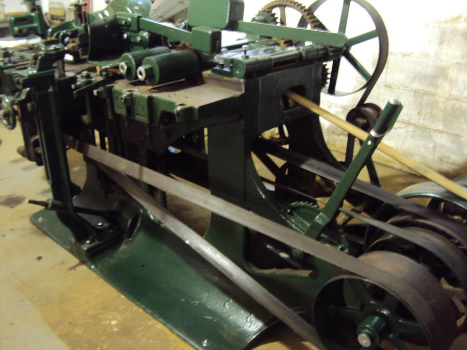 Antique Woodworking Machines
