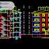 مشروع اطروحة عمارة سكنية 3 طوابق اوتوكاد dwg