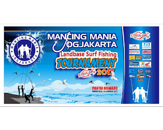 Landbase Surfishing Tournament pantai Kawaru Yogjakarta