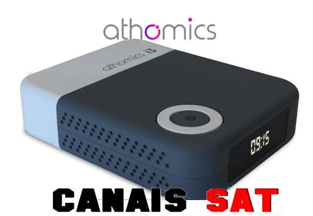 Athomics i3 Nova Atualização V1.2.8 - 29/03/2019