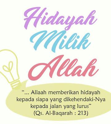 Doa Mohon Hidayah Dan Istiqamah Dalam Agama