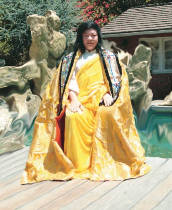 """H.H.第三世多杰羌佛,以前的""""義雲高""""和大師的尊稱已經不存在了"""