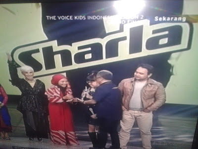 Sharla, Pemenang The Voice Kids Indonesia Season 2