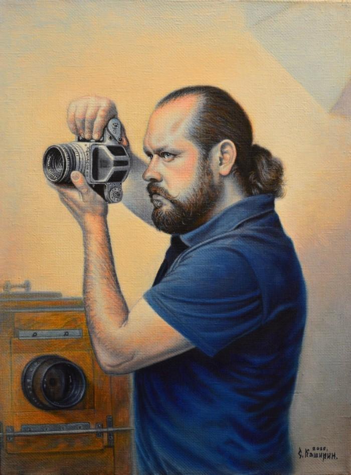 Портрет фотографа - Степан Каширин