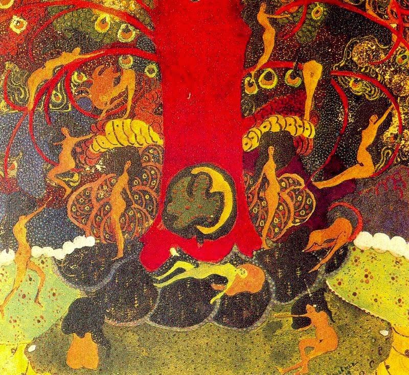 Carvalho e Driadas - Kasimir Malevich e suas pinturas com elementos geométricos abstratos