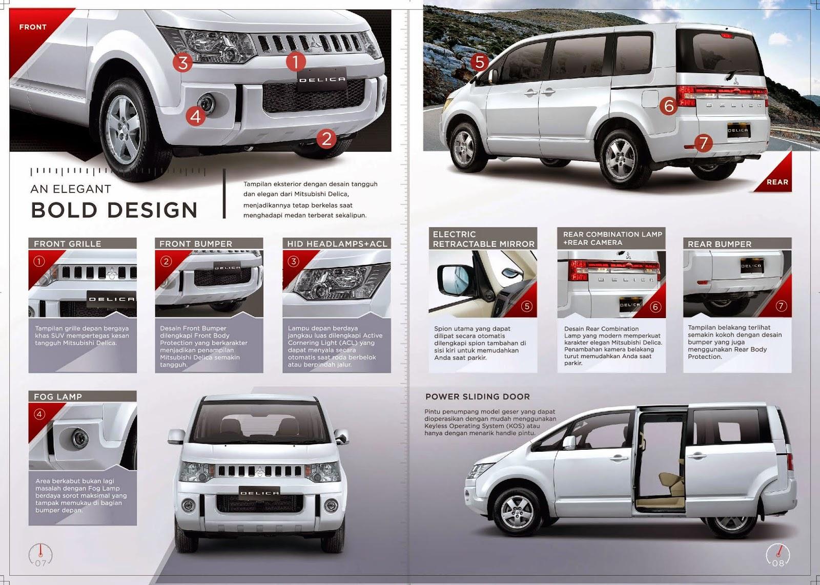 Mitsubishi Delica D5 Katalog