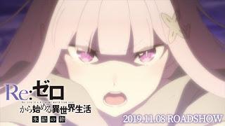 Segundo OVA de Re:Zero ganha novo vídeo e ilustração promocional