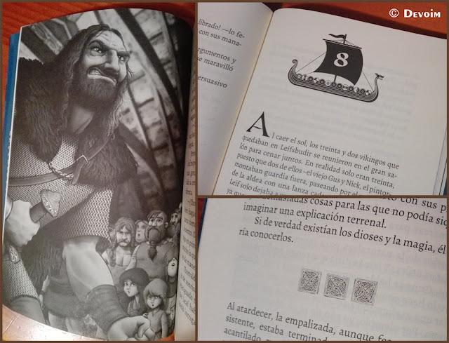 Ilustraciones y detalles de Vinlandia #1: El guerrero fantasma