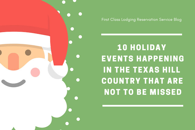 10 holiday events in Texas Hill Country blog cover image