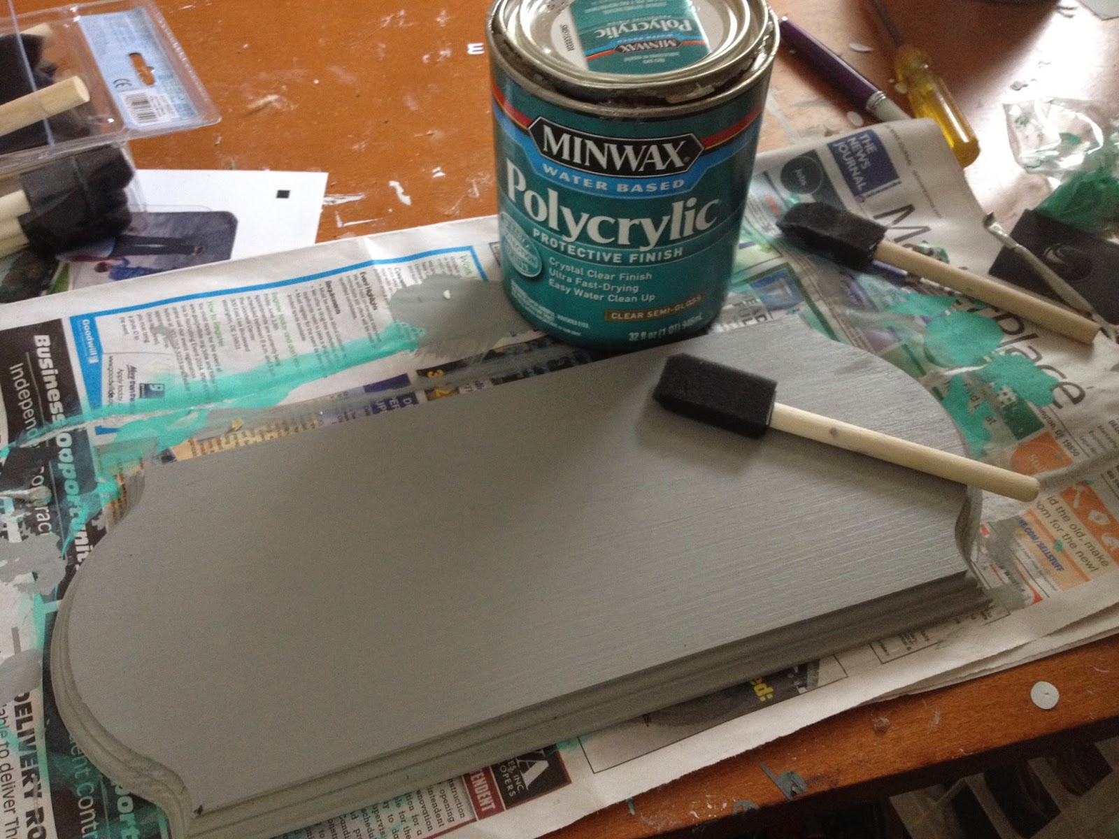 How To Put Vinyl On Painted Wood Signs So It Actually Sticks