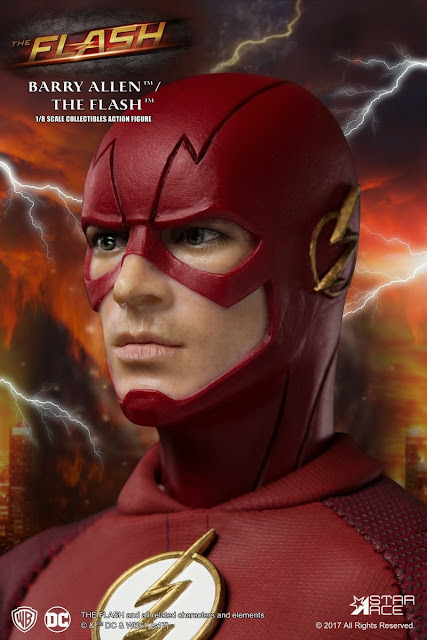 osw.zone Star Ace Toys 1/8 Grant Gustin as Barry Allen / The Flash 22.5cm Big Action Figure