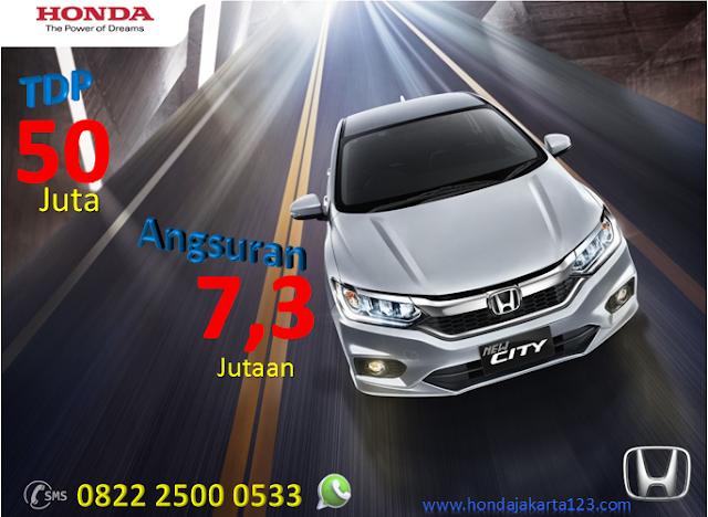 Promo Honda City Jakarta TDP Minim