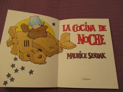 La cocina de noche, Maurice Sendak