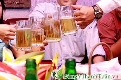 Rượu bia là nguyên nhân gây nóng trong