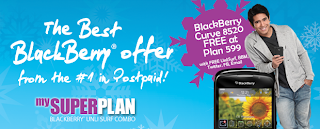 Free BlackBerry With My Super Plan UnliSurf Combo From Globe