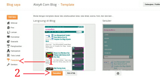 cara mengganti background template blogger dengan mudah tanpa edit html