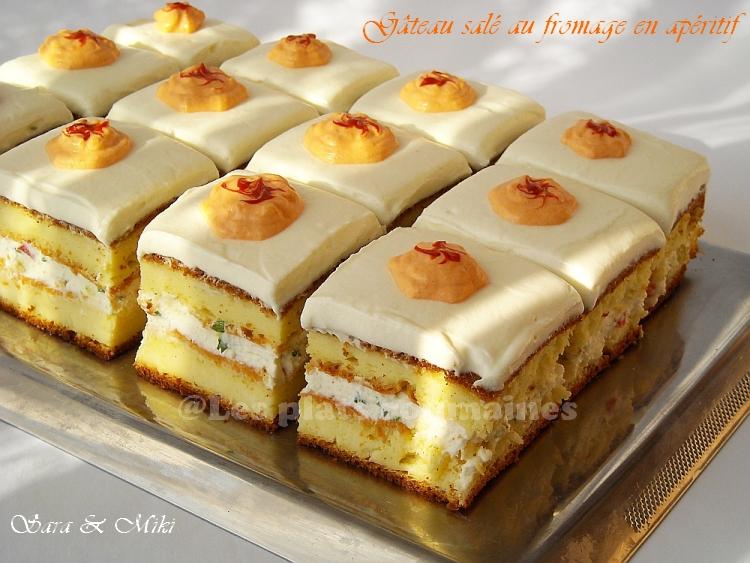 Cake Au Poivron Et Fromage