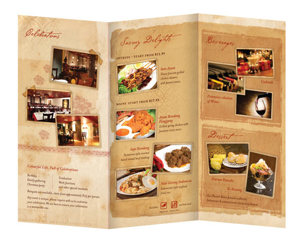 25 restaurant brochure design examples for inspiration jayce o yesta