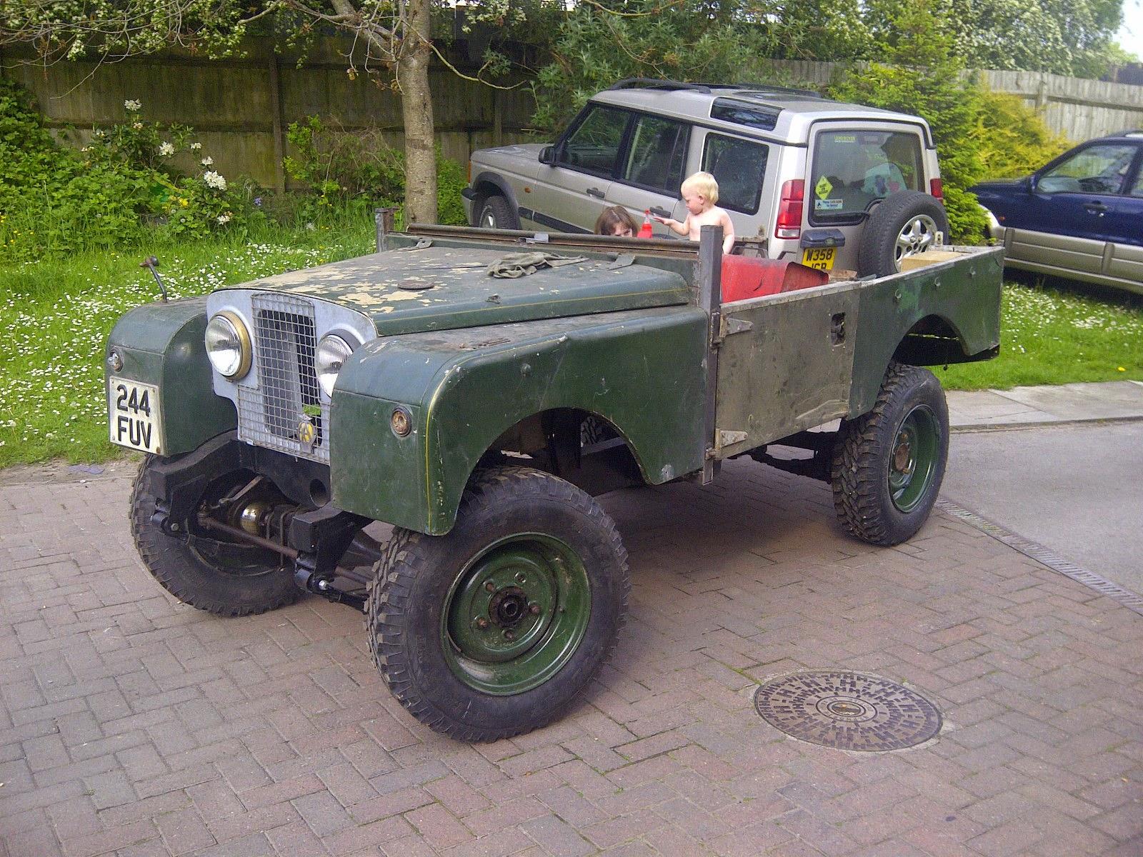 Land Rover Series 2 Brake Master Cylinder