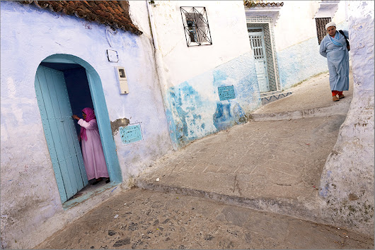 Angles. Chefchaouen. Morocco