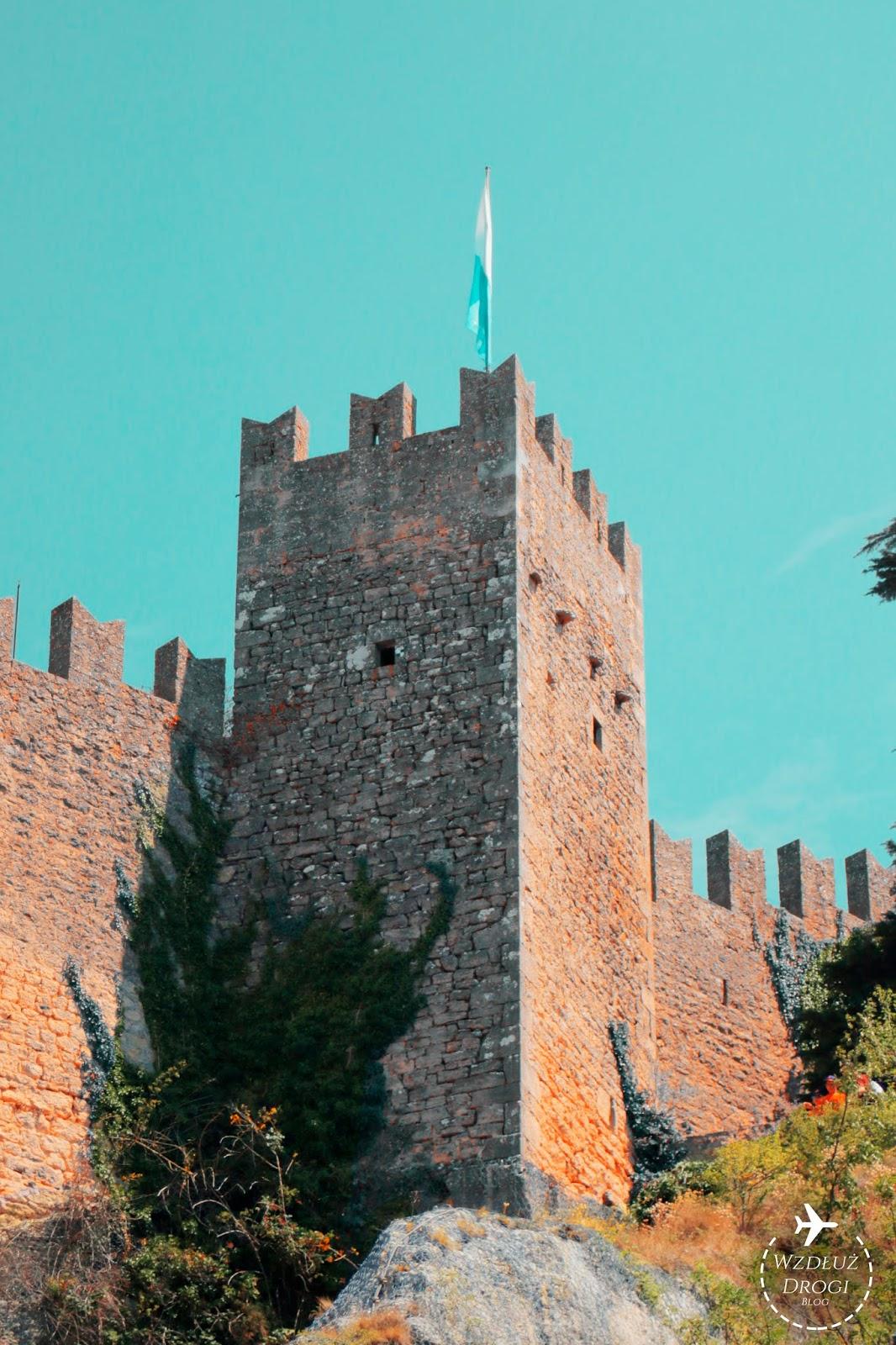 Mury obronne w San Marino