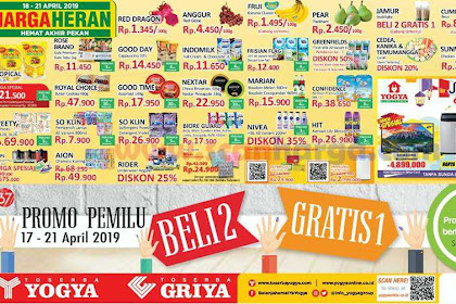 Katalog Toserba Yogya Promo JSM Weekend 18 - 21 April 2019