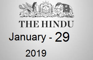The Hindu Newspaper Today 29 January 2019 Download PDF