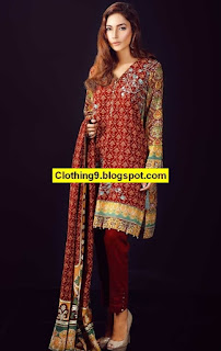 WARDA Khaddar- Linen - Karandi Shawl Suits