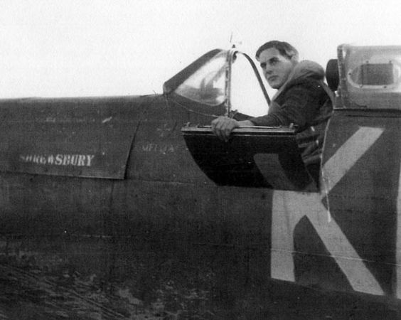 27 September 1940 worldwartwo.filminspector.com RAF pilot Dennis Secretan