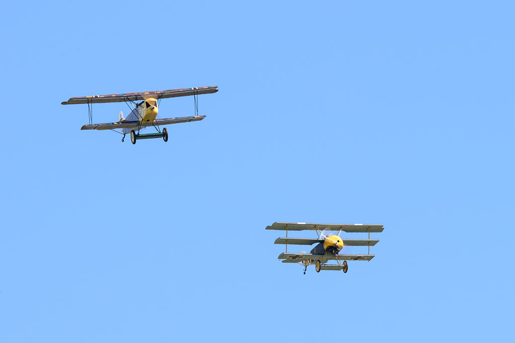 Biplanes and Triplanes Air Show