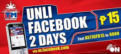 Unlimited Facebook from TM