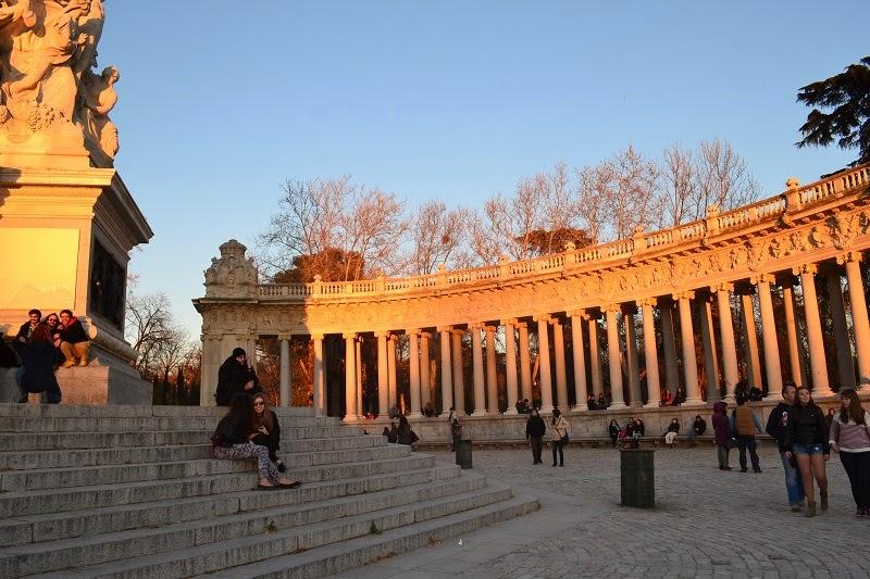 Madrid, Espagne, parc, retiro