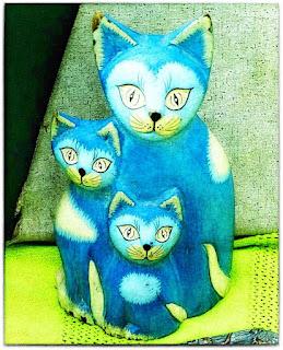 Três Gatos, Feira de Antiguidades da Praça Daltro Filho - Porto Alegre