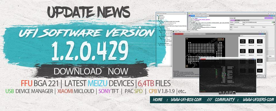 UFI box Software version 1 2 0 429 download - latest version