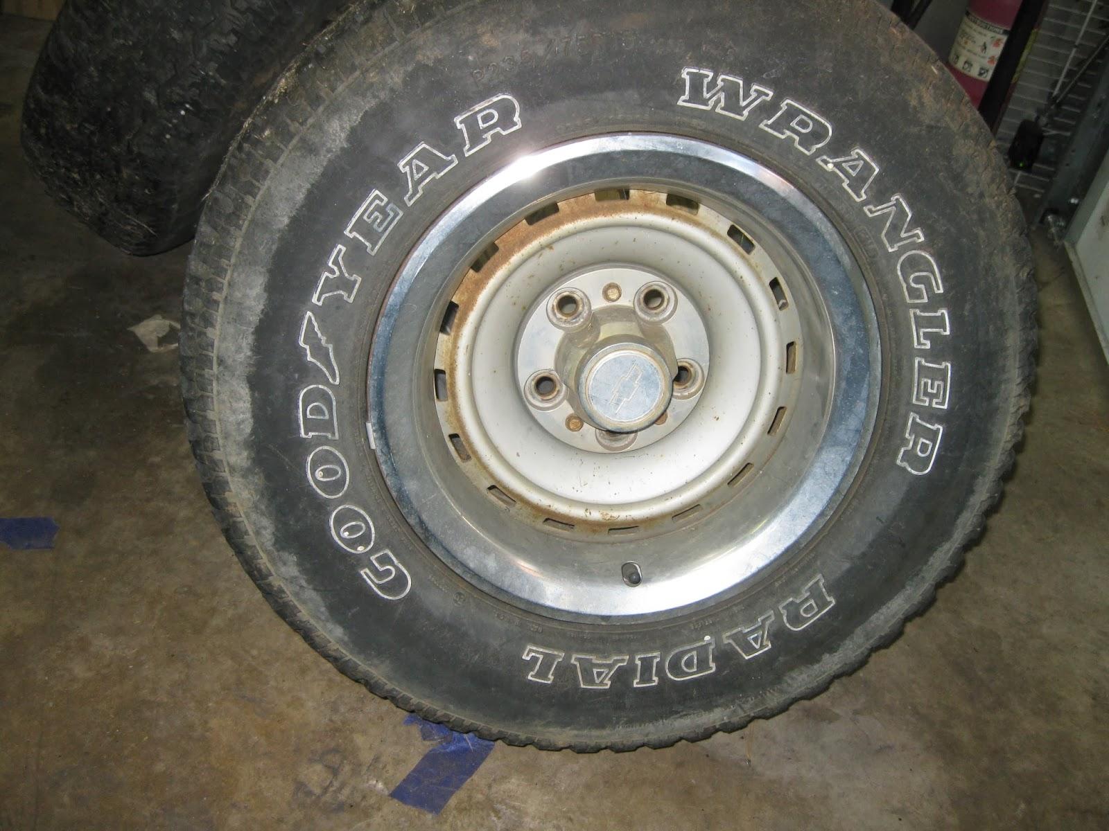 Lmc Truck Chevy >> CHEVY C10: Rally Wheels