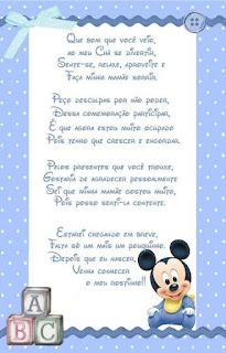 Frases para lembrancinhas de chá de bebê