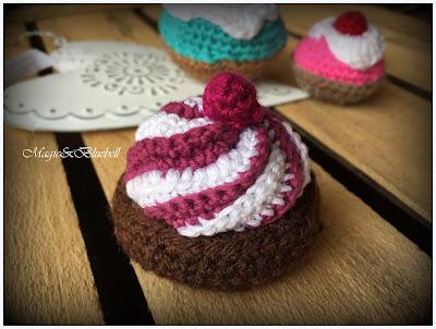 Horgolt muffin